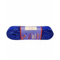 Шнурки с пропиткой  синие 108