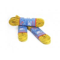 Шнурки с пропиткой  желтые 96