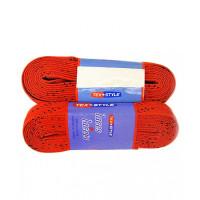 Шнурки с пропиткой  красные 120